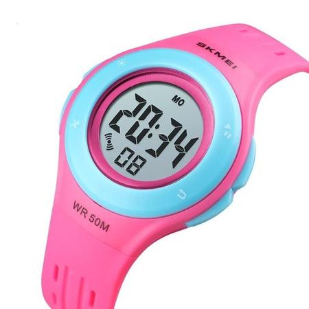 Ceas copii Skmei, Pentru fete, Sport, Digital, Cronometru, Data, Alarma 0