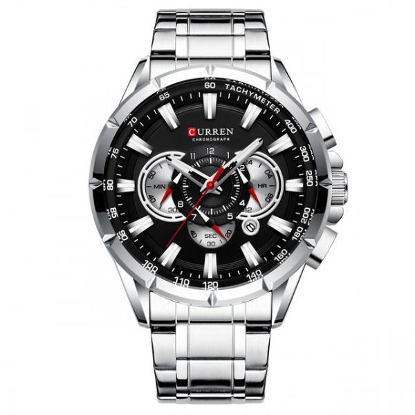 Ceas Curren Sport Otel inoxidabil Cronograf Luxury Business Fashion 1