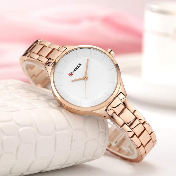 Ceas de dama, Ceas pentru femei, Top brand Luxury, Fashion, Elegant, Quartz 1