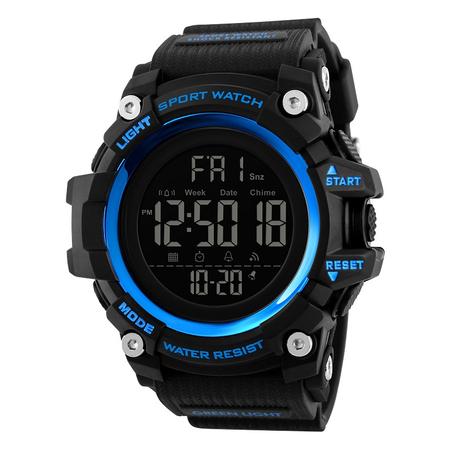 Ceas de mana barbati Militar Army Digital Cronograf Rezistent la apa si socuri 2