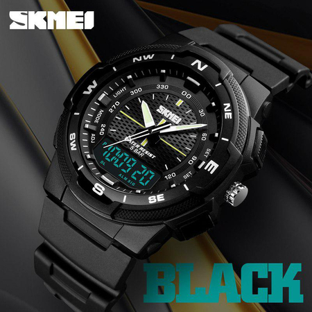Ceas digital Skmei, Dual time, Sport, Quartz 1