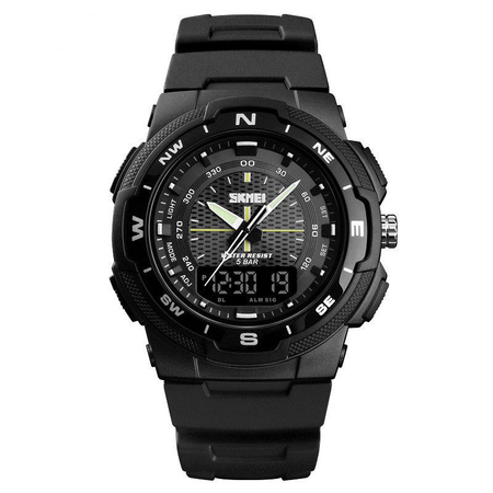 Ceas digital Skmei, Dual time, Sport, Quartz 4