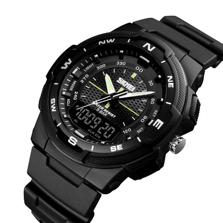 Ceas digital Skmei, Dual time, Sport, Quartz 0