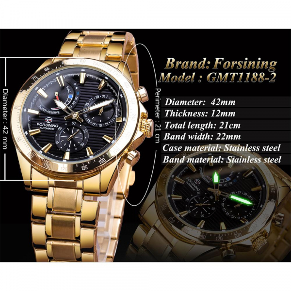 Ceas mecanic automatic, Self Wind, 2020, Fashion, Casual, Top Brand Luxury 4