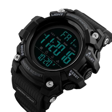 Ceas militar pentru barbati Sport Digital Rezistent la socuri Cronograf 0