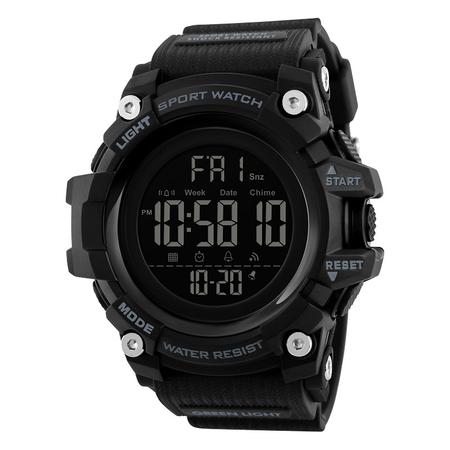 Ceas militar pentru barbati Sport Digital Rezistent la socuri Cronograf 1