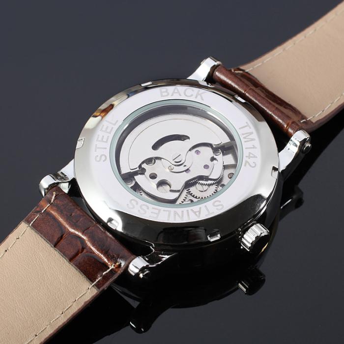 Ceas pentru barbati Mecanic Automatic Winner Retro Clasic [4]