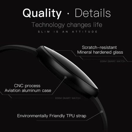 "Ceas Smartwatch, Bluetooth, Display 1.04"" IPS, Monitorizare ritm cardiac, Somn, GPS 1"