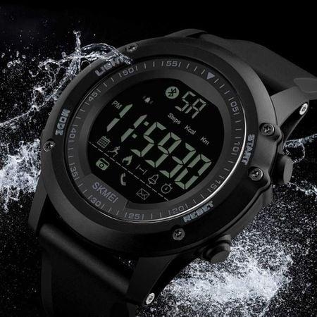 Ceas Smartwatch, inteligent Skmei, Fitness, Digital, Sport, Rezistent la apa, Pedometru, Calculator calorii 2