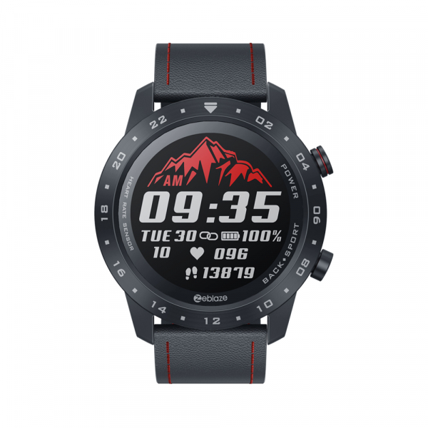 Ceas smartwatch, Inteligent, Zeblaze, Monitorizare sanatate & fitness, Bluetooth 5.0 Android/IOS 1