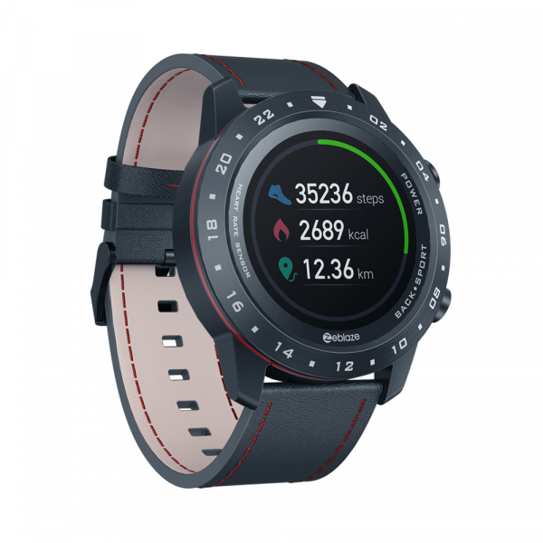 Ceas smartwatch, Inteligent, Zeblaze, Monitorizare sanatate & fitness, Bluetooth 5.0 Android/IOS 2