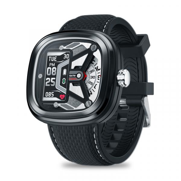 Ceas smartwatch mecanic Zeblaze Hybrid 2, Monitorizeaza sanatatea si activitatea fitness 0