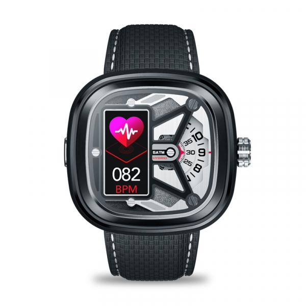 Ceas smartwatch mecanic Zeblaze Hybrid 2, Monitorizeaza sanatatea si activitatea fitness 1