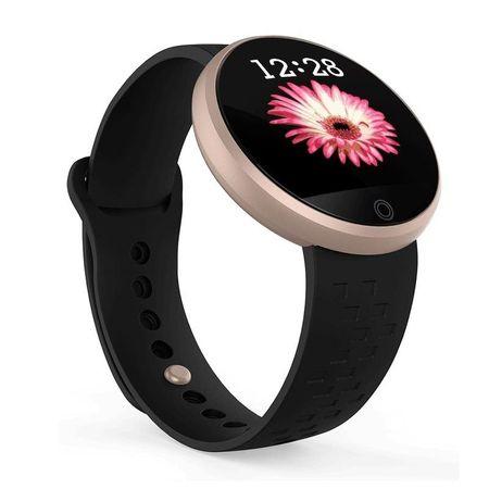 """Ceas smartwatch Skmei, Display 1.04""""Color, Monitorizare perioada menstruatie, Ritm cardiac, Calorii, Pedometru 0"""