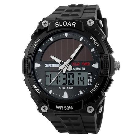 Ceas Solar Skmei 1049, Digital, Dual time 0
