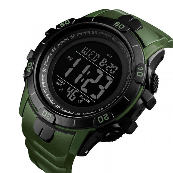 Ceas Sport Militar Digital Barbati Alarma Cronometru Rezistent la apa si socuri 1