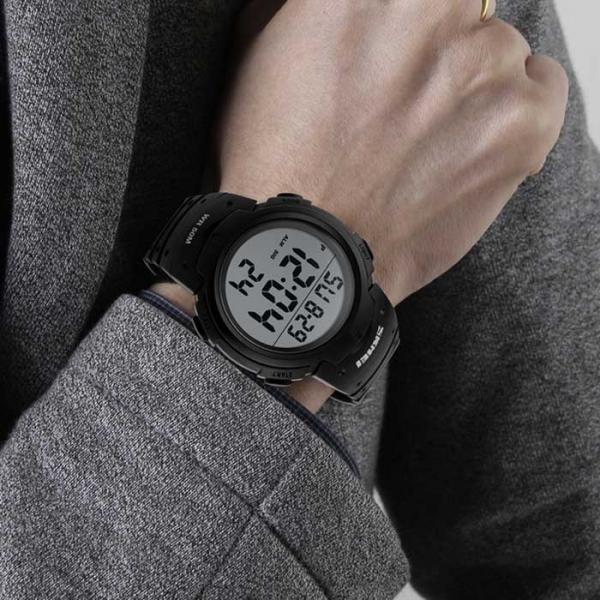 Ceas Sport Skmei Digital Cronometru Data Alarma [4]