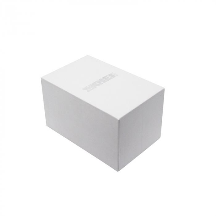 Ceas barbatesc Skmei Dual Time Quartz Digital Otel inoxidabil [9]