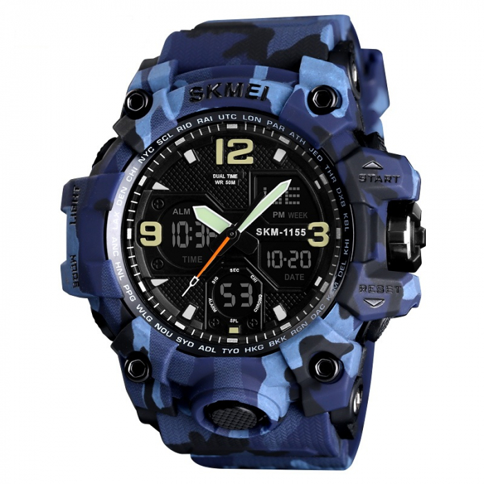 SKMEI 1155 CAMO BLUE [0]