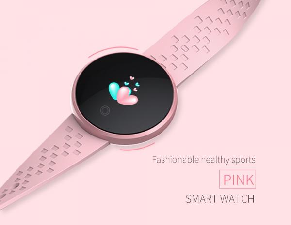 Skmei Bozlun Ceas smartwatch femei Fitness Tracker Pedometru Monitorizare Bataile inimii 2