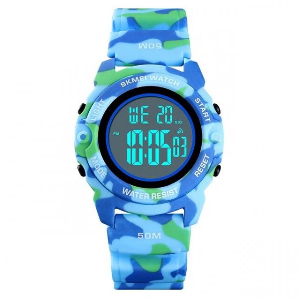 Skmei Ceas copii Digital Cronometru Alarma Calendar Zilele saptamanii 1