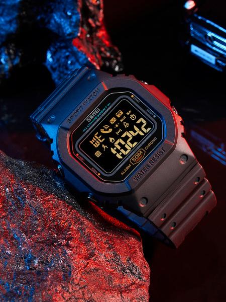 Skmei Ceas smartwatch inteligent Bluetooth Sport Fitness Tracker Led [2]