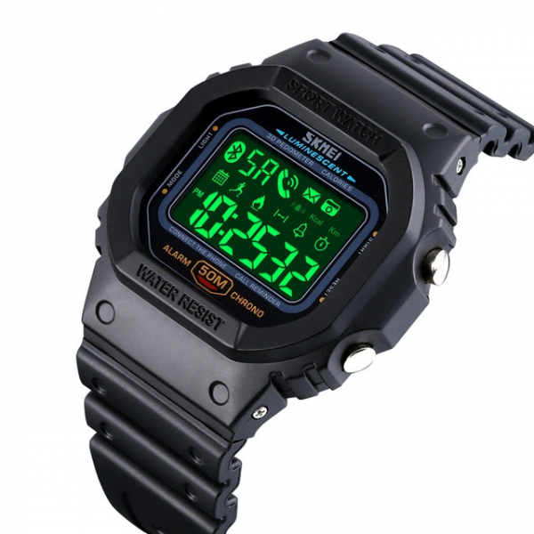 Skmei Ceas smartwatch inteligent Bluetooth Sport Fitness Tracker Led [0]