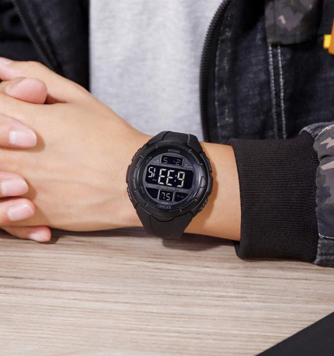 Skmei Ceas sport Dual Time Cronometru Alarma [5]
