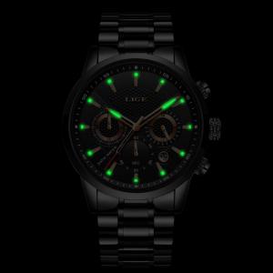 Ceas barbatesc Business Elegant Cronograf Elegant Otel Inoxidabil Quartz8