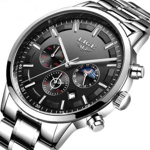 Ceas Barbatesc, Lige, Analog, Luxury, Business, Elegant, Mecanism Quartz, Calendar, Cronometru2