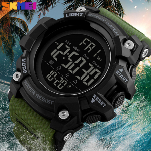Ceas barbatesc Militar Army Cronograf Sport Digital Rezistent la apa si socuri [3]