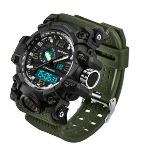 Ceas barbatesc, Sanda, Sport, Militar, Army, Outdoor, Analog, Digital, Quartz, Cronometru, Alarma, Calendar, Cronograf2