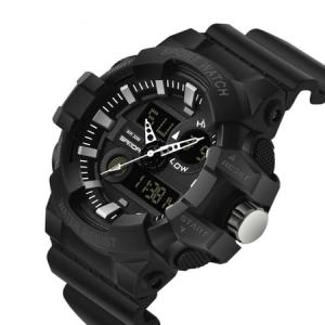Ceas barbatesc, Shock resistant, Militar, Sport, Digital, Dual-time1