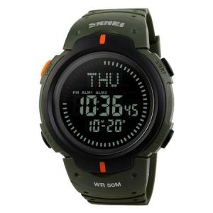 Ceas barbatesc Skmei, Busola, Compass, Ora Globala, 3 alarme, Cronometru, Cronometru invers1