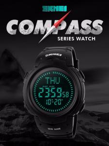Ceas barbatesc Skmei, Busola, Sport, Digital, Compass [6]