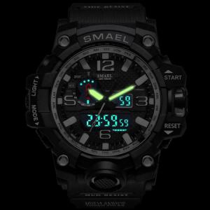 Ceas Barbatesc Smael, G-Shock, Sport, Army, Militar, Dual time, Cronometru, Alarma, Rezistent la apa5