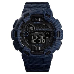Ceas barbatesc Sport, Digital, Cronometru, Alarma, Lumina de fundal [0]