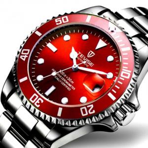 Ceas barbatesc Tevise Mecanic Automatic Luxury Calendar0