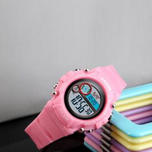 Ceas copii Fete Digital Led Alarma Cronograf Curea PU1