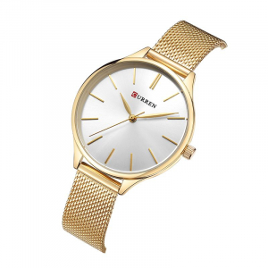 Ceas de dama casual, Curren, Fashion, Quartz, Otel inoxidabil2