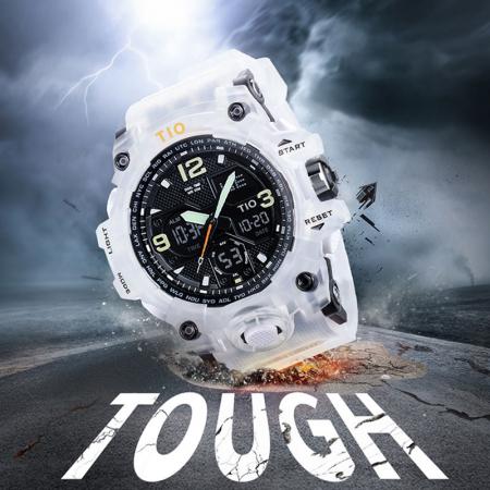 Ceas de mana barbatesc Tio Militar Army Sport Digital Cronograf Quartz Rezistent la apa si socuri [4]