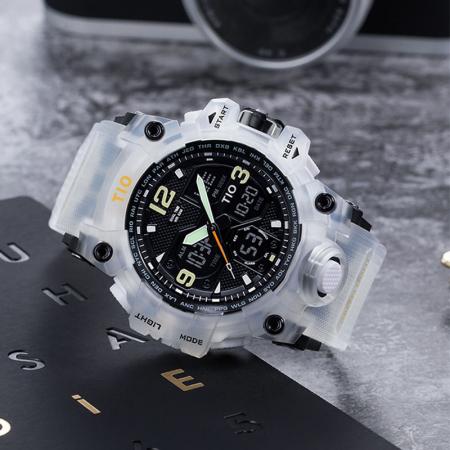 Ceas de mana barbatesc Tio Militar Army Sport Digital Cronograf Quartz Rezistent la apa si socuri [2]