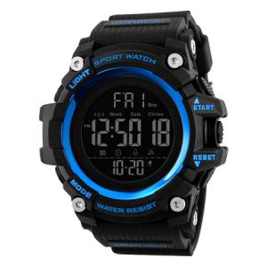 Ceas de mana barbati Militar Army Digital Cronograf Rezistent la apa si socuri [0]