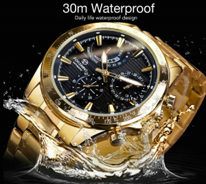 Ceas mecanic automatic, Self Wind, 2020, Fashion, Casual, Top Brand Luxury5