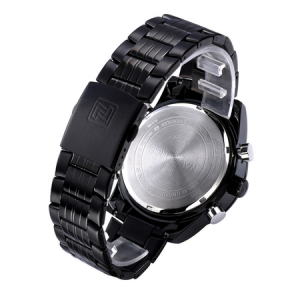 Ceas Naviforce clasic multifunctional, rezistent la apa 5Bar, mecanism Quartz, afisaj digital si analogic, alarma si cronometru4