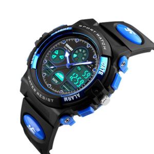 Ceas pentru baieti, Digital, Sport, Analog, Dual Time, Cronometru, Alarma, Calendar [0]