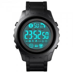 Ceas smartwatch inteligent barbatesc Bluetooth Digital Monitorizeaza bataile inimii Pedometru Calorii0