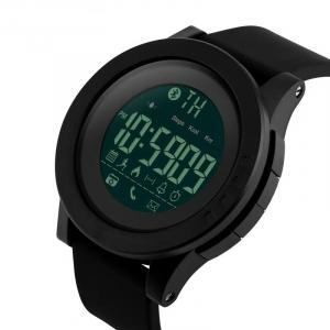 Ceas smartwatch Skmei 1255, Pedometru, Calorii, Distanta, Bluetooth, Buton Fotografiere [0]