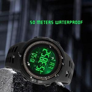 Ceas Sport, pentru barbati, Crononometru, Alarma, Afisal Digital5