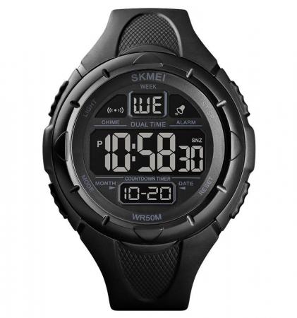 Skmei Ceas sport Dual Time Cronometru Alarma [0]